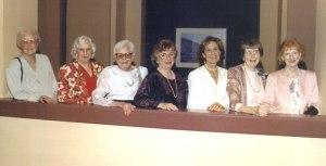Les fondatrices de LLL en 2006, lors du 50e anniversaire de l'organisme.
